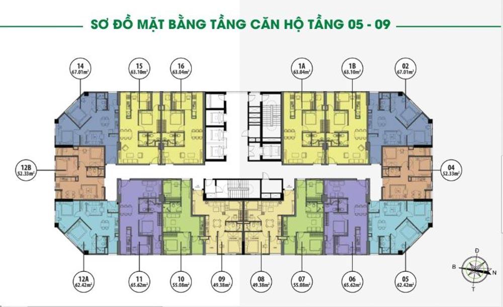 mat bang tang can ho flc dai mo