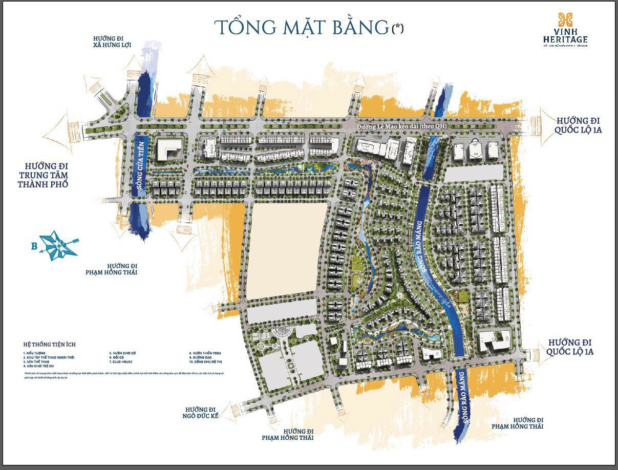 mat bang tong the gia ban vinh heritage