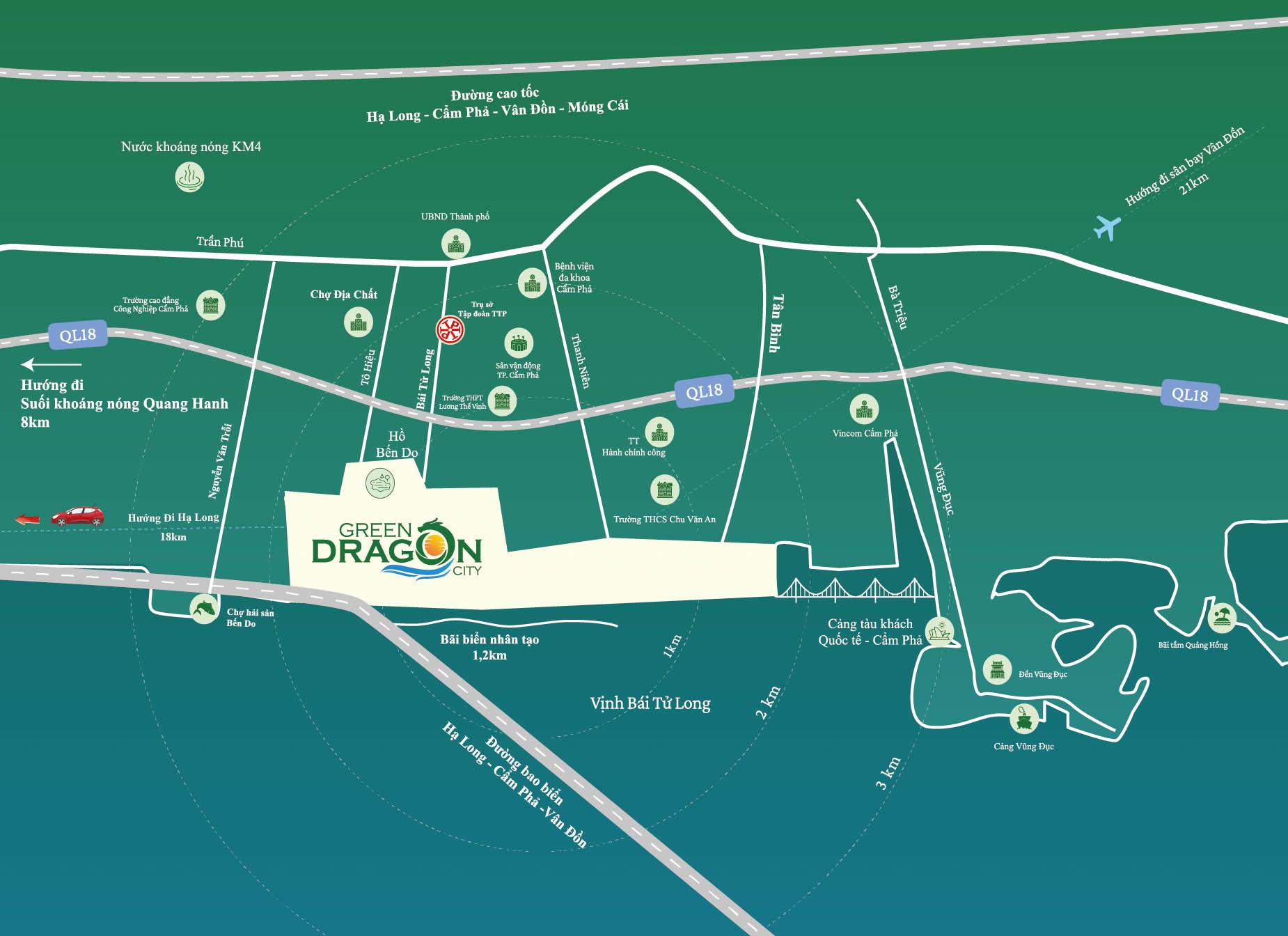 vi tri green dragon city