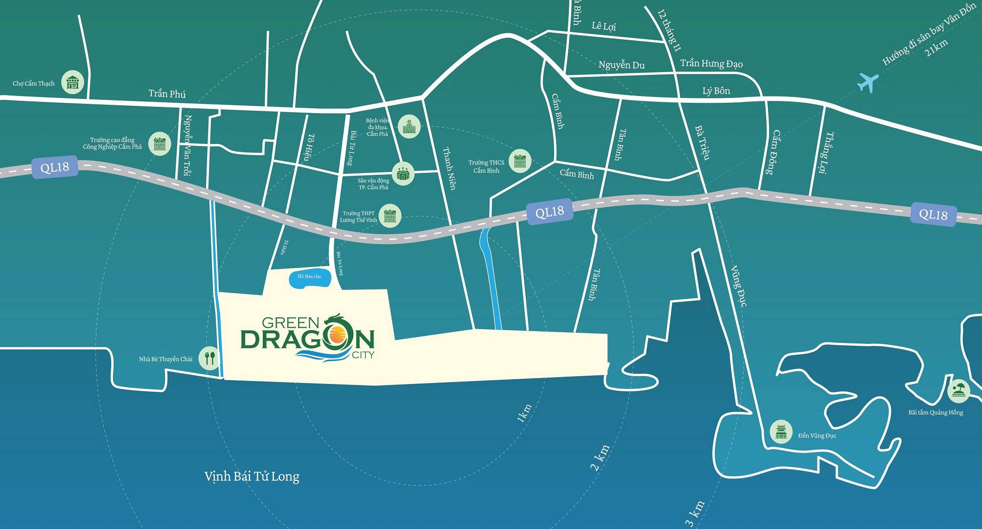 vi tri gia ban green dragon city
