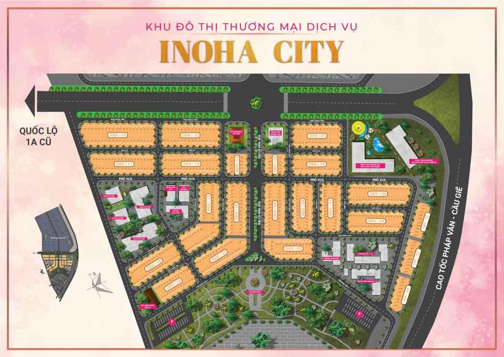 mat bang tong the tien do inoha city