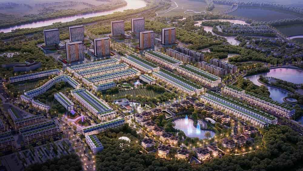 phoi canh vi tri kosy city beat thai nguyen