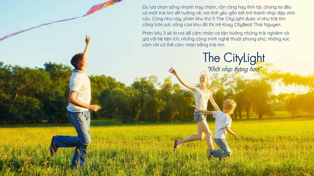 the citylight gia ban kosy city beat thai nguyen