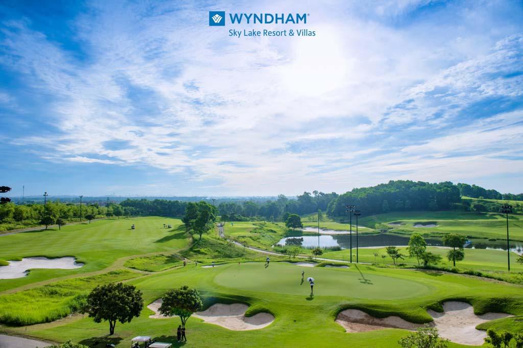 san golf wyndham sky lake