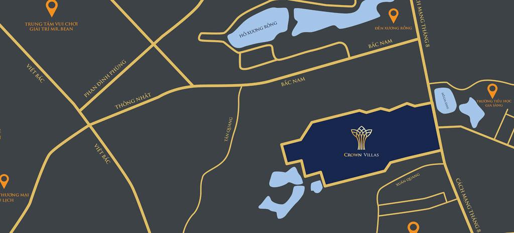 vi tri thai hung crown villas