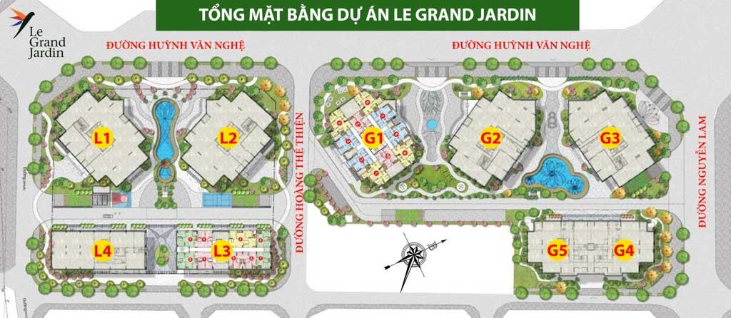 mat bang tong the le grandd jardin
