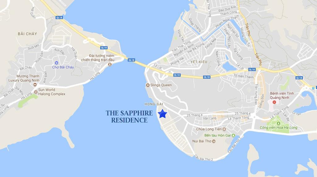 vi tri gia ban the sapphire mansions